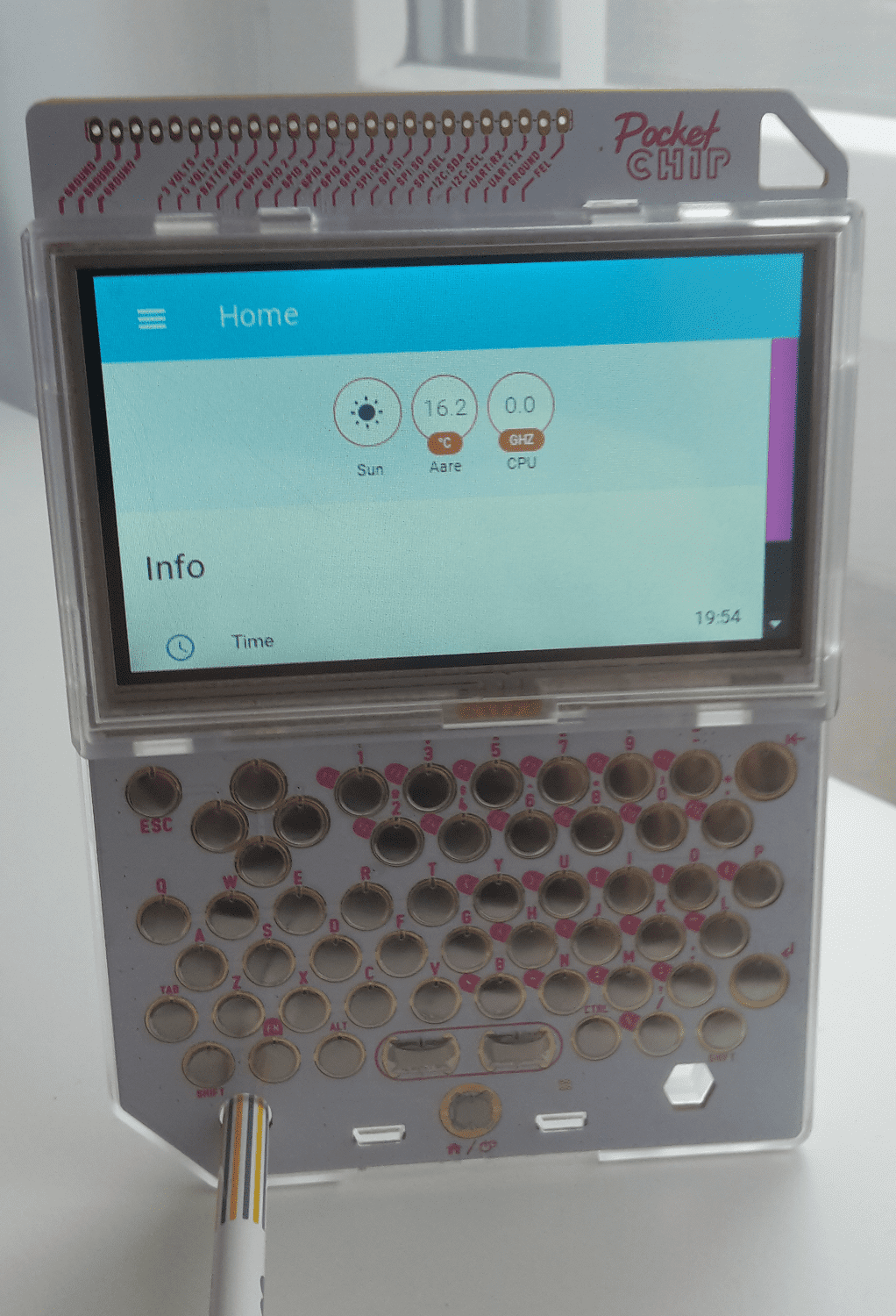PocketCHIP running Home Assistant - Home Assistant