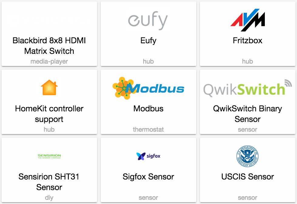 0 68: HomeKit control, Eufy, FritzBox, SigFox sensors - Home