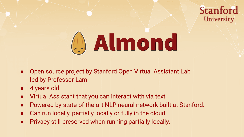 Short description of what Almond is.