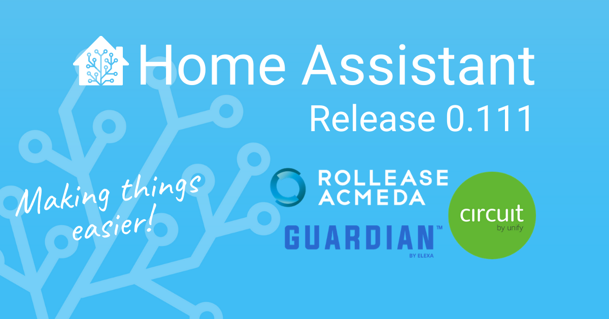 Home Assistant Core 0.111