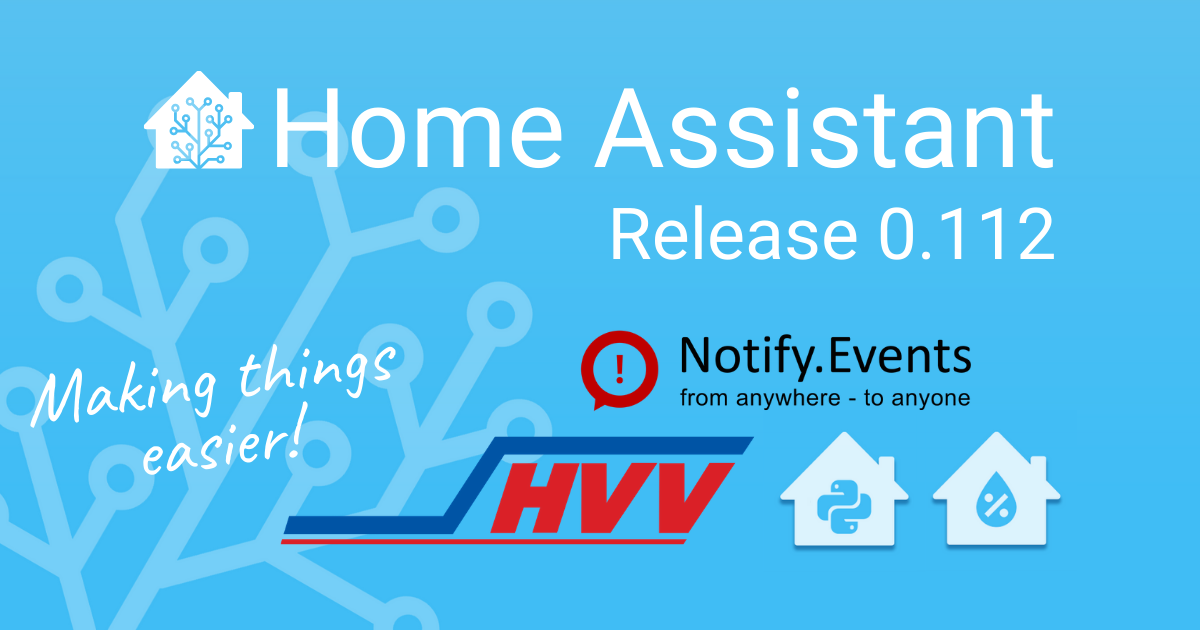 Home Assistant Core 0.112