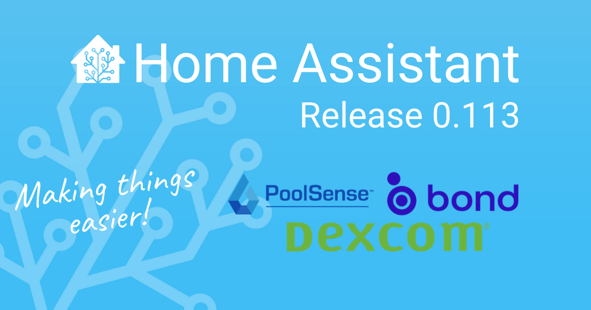 Home Assistant Release 0.113