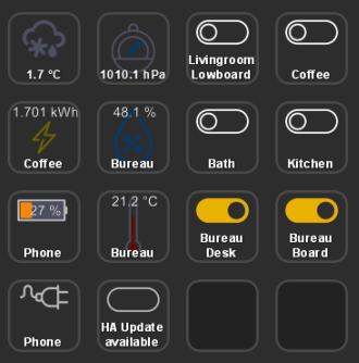 Captura de pantalla del software StreamDeck