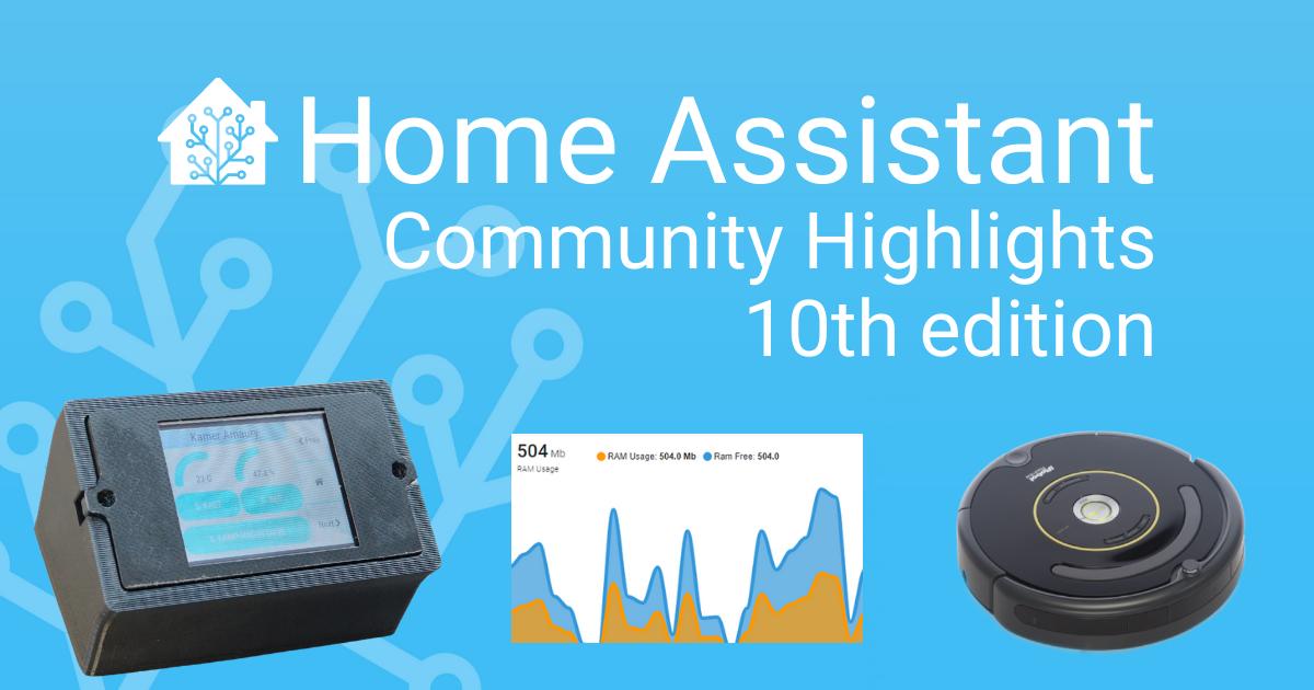 Aspectos destacados de la comunidad: décima edición – Home Assistant