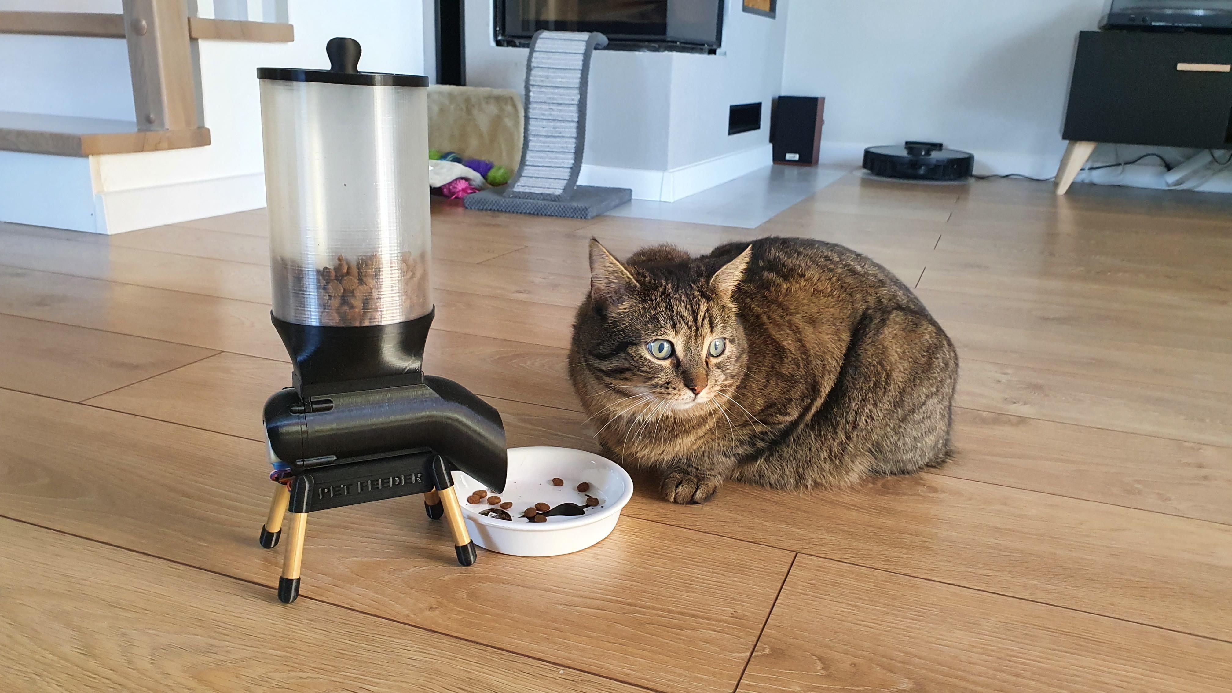 Cómo se ve el comedero inteligente para mascotas