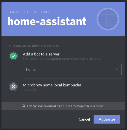 Discord - Home Assistant