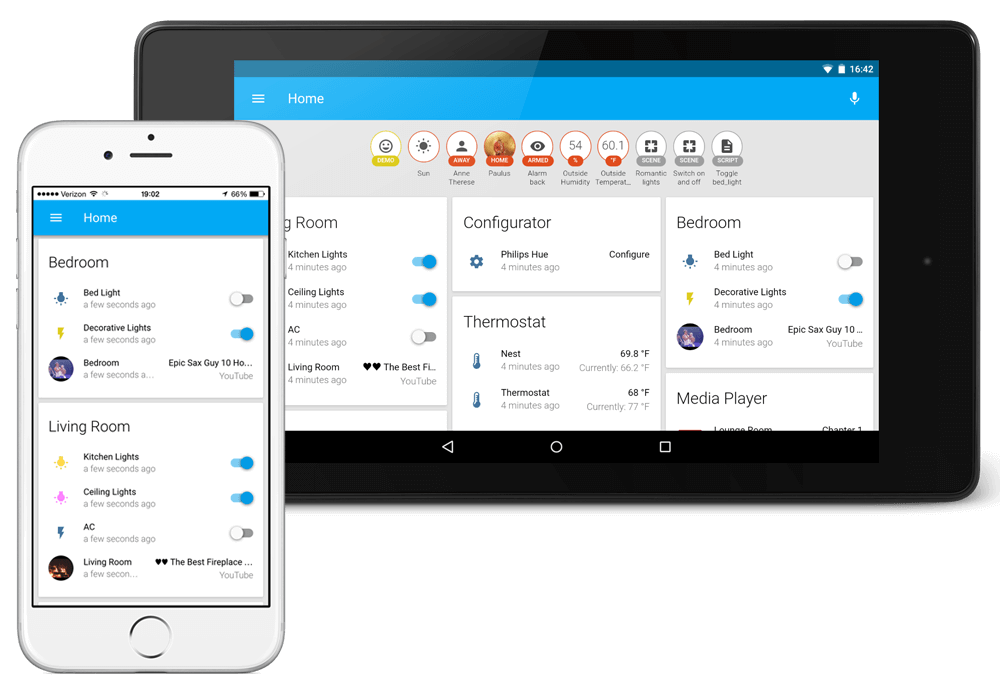 Frontend of Home Assistant - Home Assistant